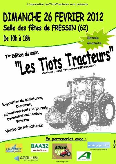 """expo """"les tiots tracteurs """" 2012"""