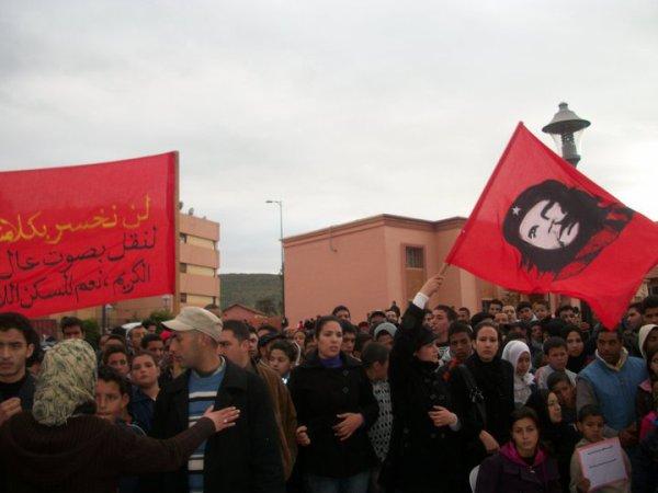 لائحة بأسماء معتقلي الانتفاضة الشعبية  بمدينة آسفي يوم فاتح غشت