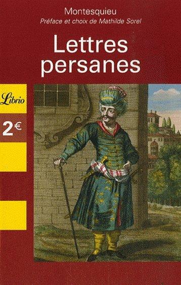 Lettres persanes de Montesquieu
