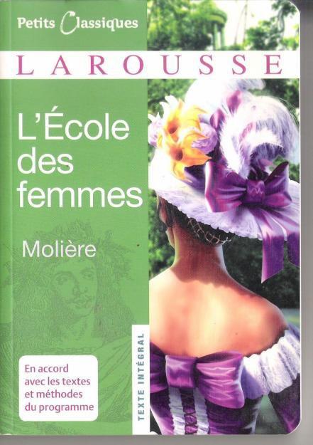 L'Ecole des femmes de Molière