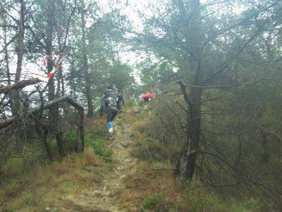 Trail du Boër , 11 decembre 2011 à Moussan