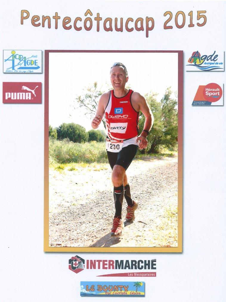 Pentecotaucap ,Course de 16 km, Dimanche 24 Mai 2015