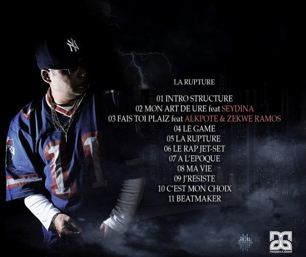 Album La Rupture - Sheno mdb