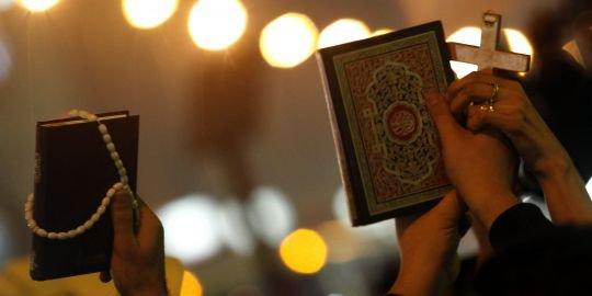 Le musulman et le chrétien...