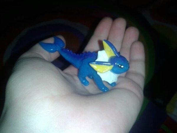 Figurines pokemon en pâte fimo