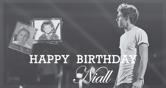 Happy Birthday Niall !!! <33