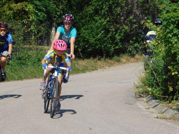 GODENEVAL  en école de cyclisme Samedi 1er Septembre 2018.
