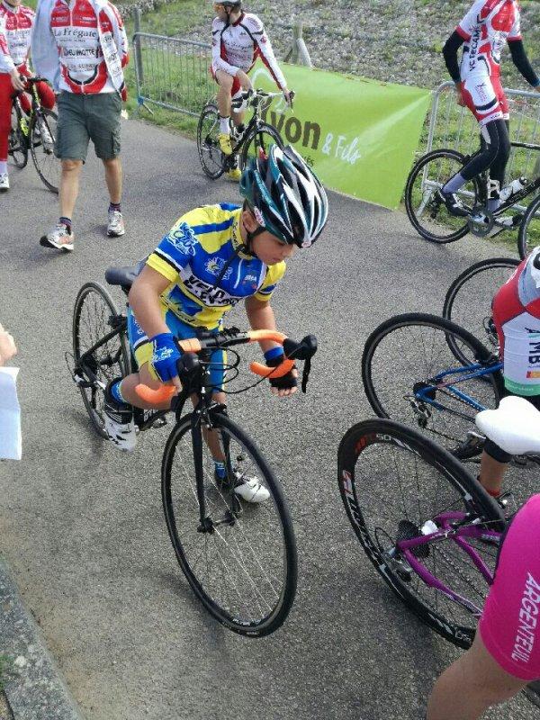 COLLEVILLE (76) en école de cyclisme Samedi 15 Septembre 2018.