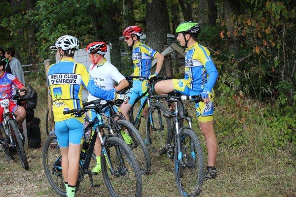 AULNAY SUR ITON en école de cyclisme. Finale du Trophée des écoles de l'Eure.Samedi 6 Octobre 20018.