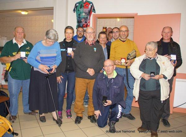 ASSEMBLEE GENERALE DU COMITE DE L'EURE  Samedi 27 Octobre 2018 à Pacy sur Eure