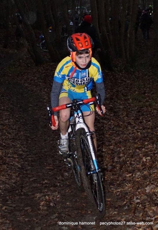 PACY SUR EURE en cyclo cross Samedi 26 Janvier 2019 en école et minimes.