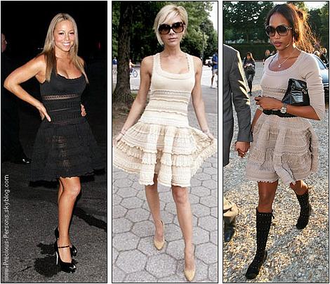 . Qui porte le mieux cette robe AZZEDINE ALAÏA ? .