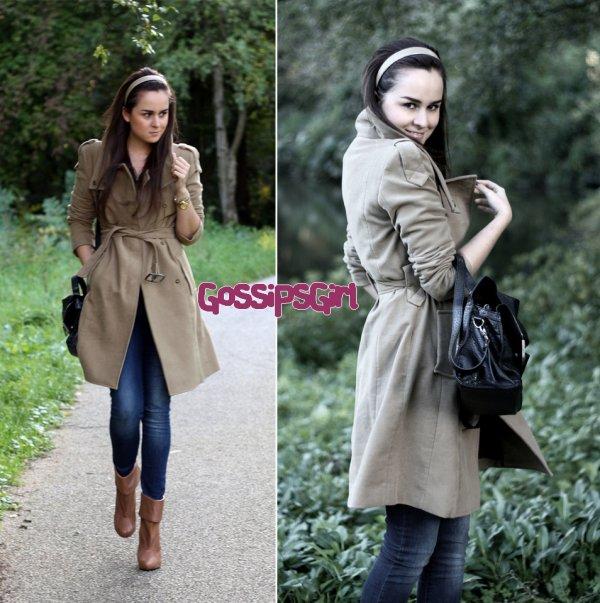 Rubrique : Street Style____Remarque :  Parfaite tenue d'automne ♥ ! ____NOTE :8.5/10