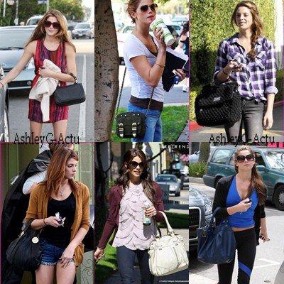 Collection de sacs a mains pour Ashley, dites lequel vous préférez!
