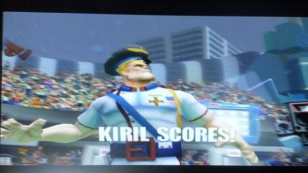Le Gamer Fight 2012 : Les images (Sega soccer slam)