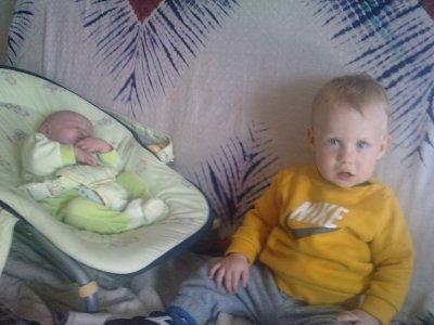mes deux fils .