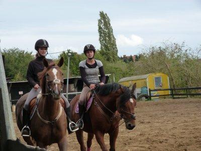 aurélie avec Renda et mOi sur Tzëna