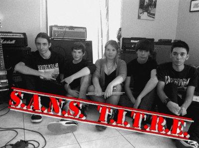 Présentation de S.A.N.S. T.I.T.R.E. / Membres