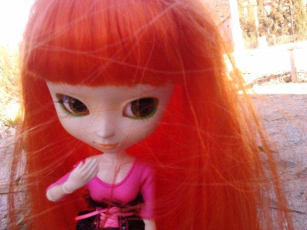 Sceance photo de Anaé prise par Maeva.