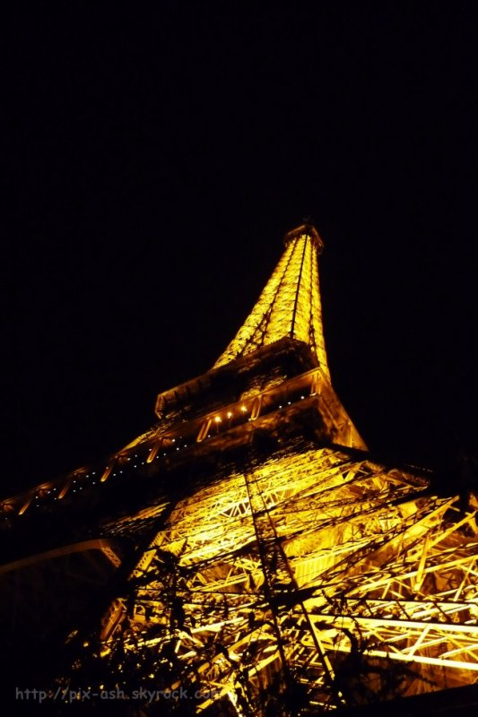 Eiffel by night 3
