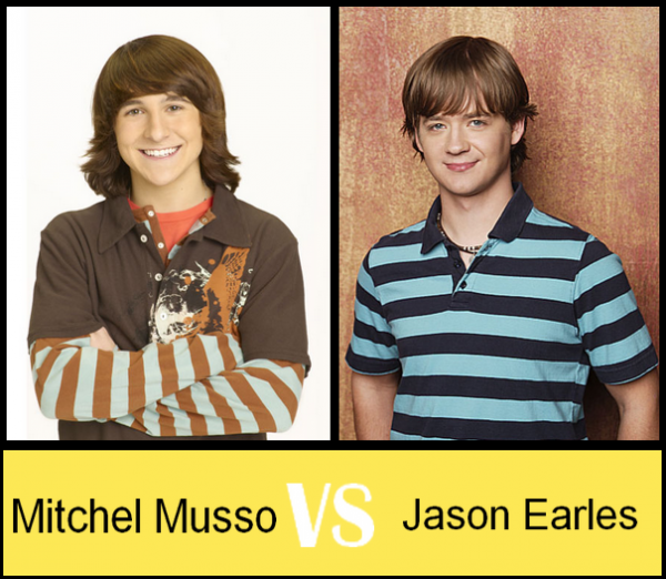Mitchel Musso VS Jason Earles