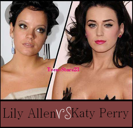 Lily Allen VS Katy Perry