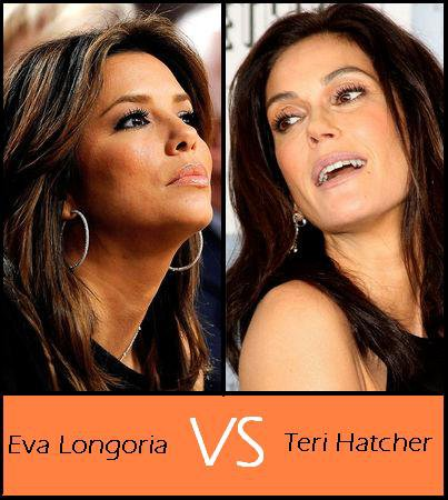 Eva Longoria VS Teri Hatcher