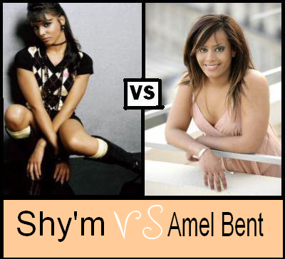 Shy'm VS Amel Bent