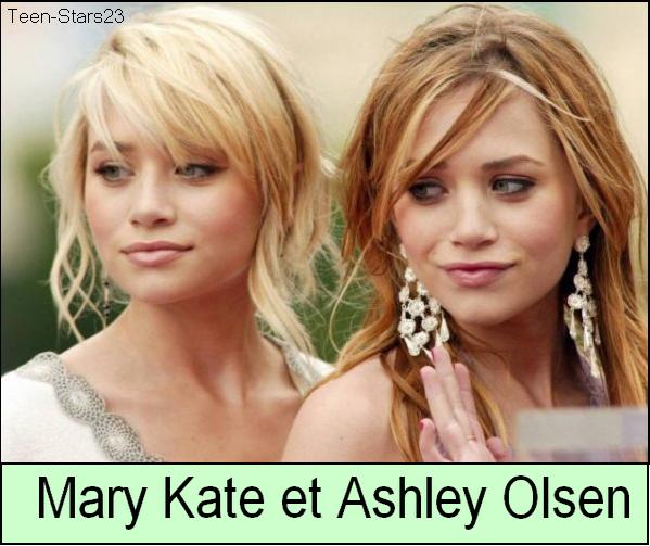 Mary-Kate Olsen VS Ashley Olsen