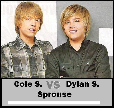 Dylan Sprouse VS Cole Sprouse