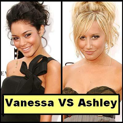 Vanessa Hudgens VS Ashley Tisdale