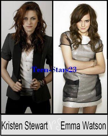 Kristen Stewart VS Emma Watson