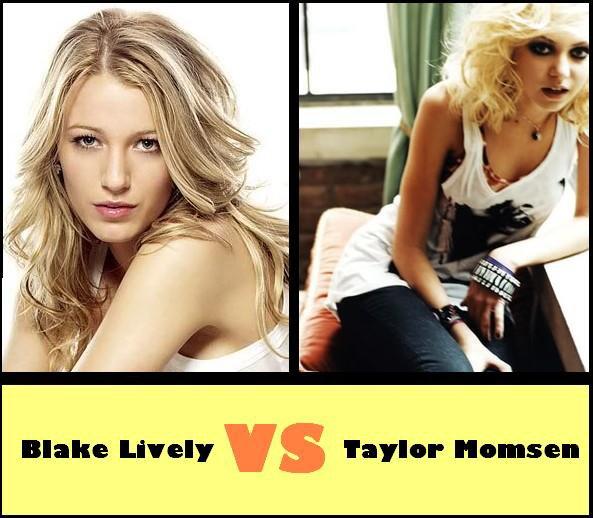 Blake Lively VS Taylor Momsen