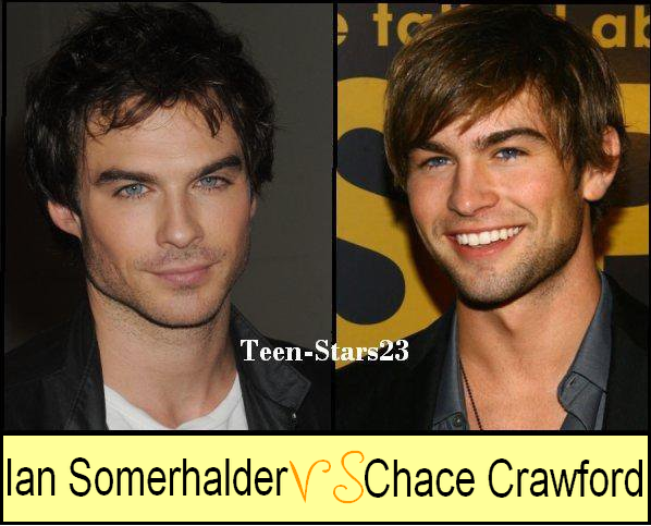 Ian Somerhalder VS Chace Crawford