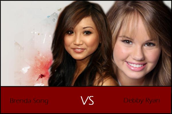 Brenda Song VS Debby Ryan