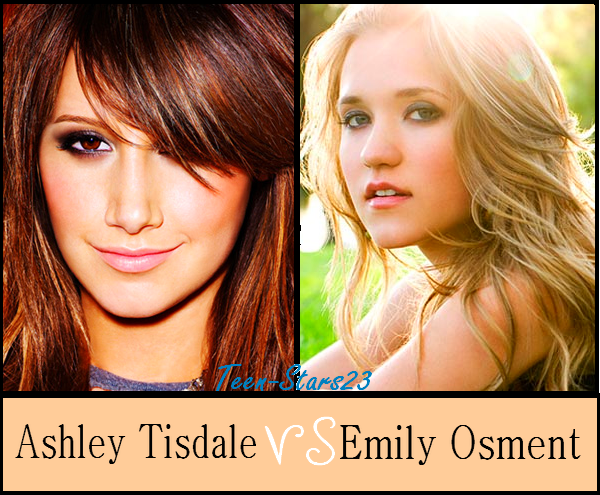 Ashley Tisdale VS Emily Osment