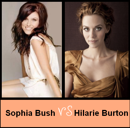 Sophia Bush VS Hilarie Burton