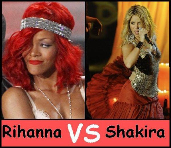 Rihanna VS Shakira