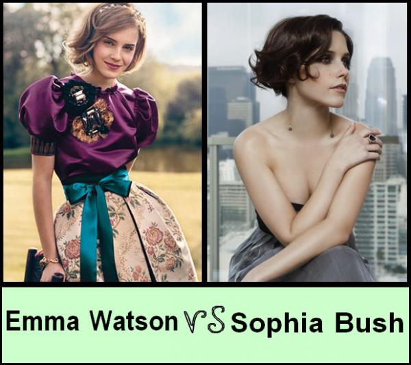 Sophia Bush VS Emma Watson