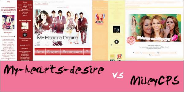 My-Hearts-Desire VS MileyCPS