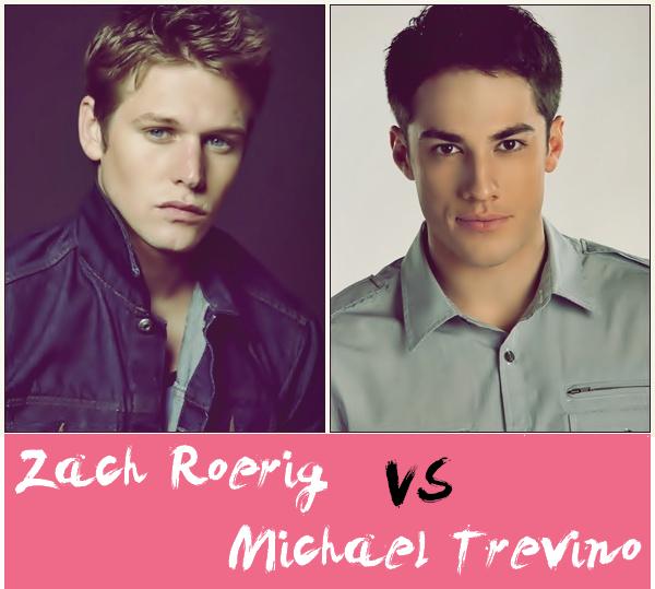 Zach Roerig VS Michael Trevino
