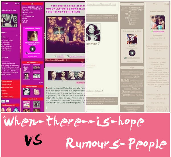 When-There--Is-Hope VS Rumours-People