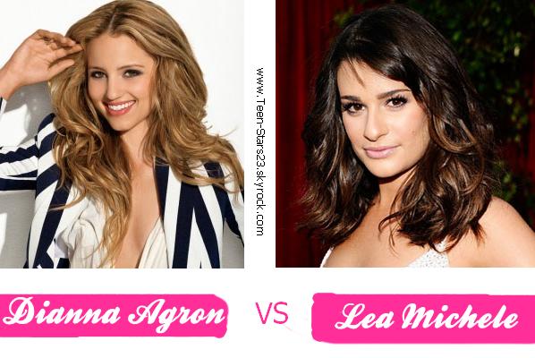 Dianna Agron VS Lea Michele