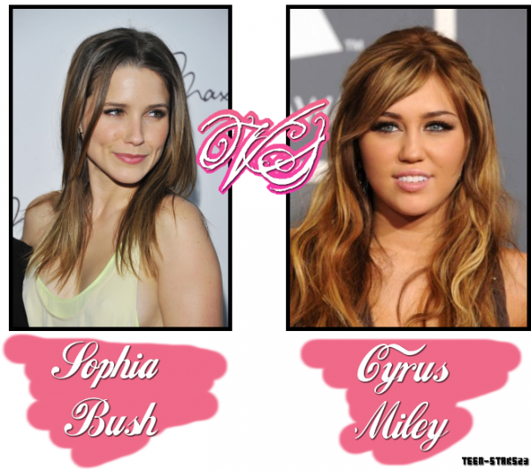 Sophia Bush VS Miley Cyrus