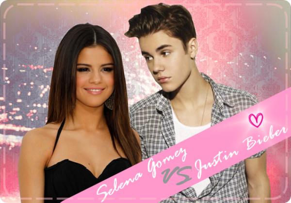 Selena Gomez VS Justin Bieber