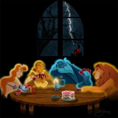 Halloweeeeeen chez les Disney