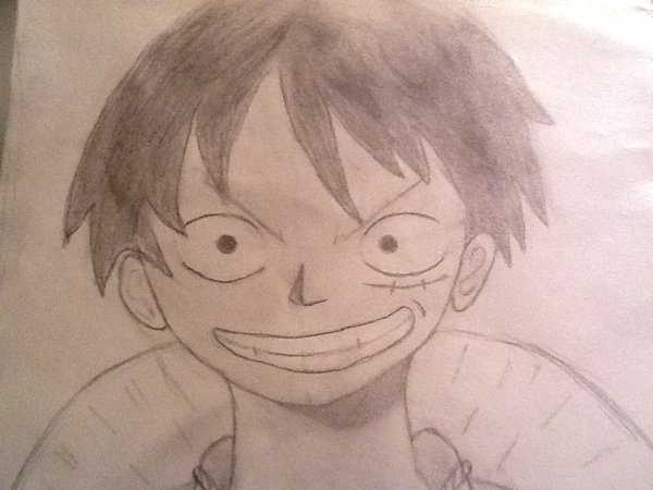 Dessin ! : Luffy ; Le roi des Pirates !