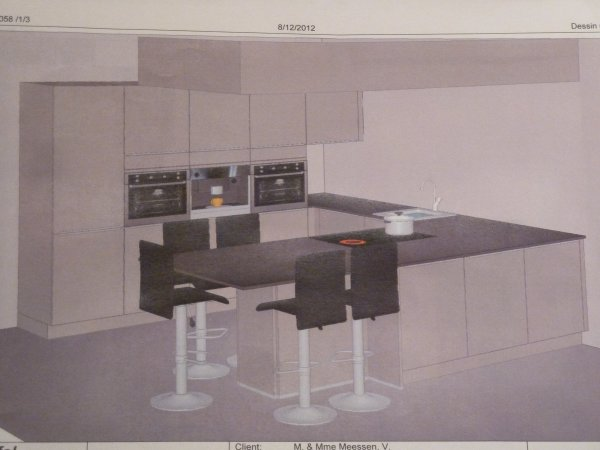 La cuisine maison team construct - Cuisine equipee krefel ...