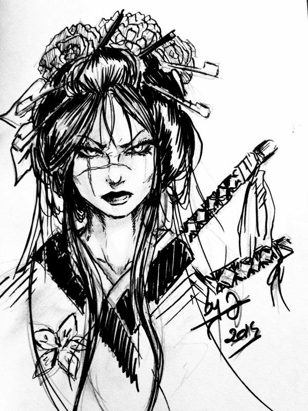 Geisha encore et toujours... ;3