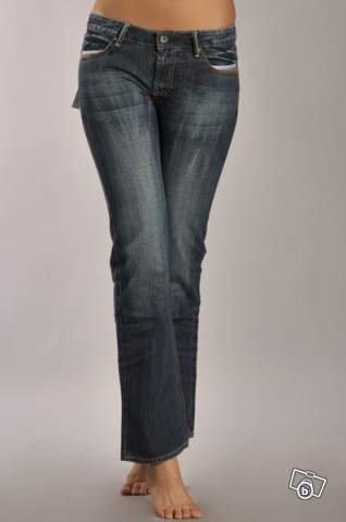 Jean femme fashion